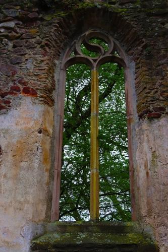 Salföldi pálos kolostorrom