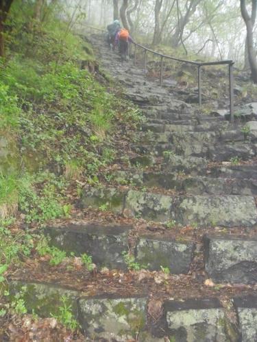 Bujdosók lépcsője-Badacsony